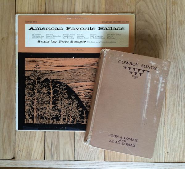 American Favorite Ballads, Cowboy Songs